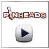 Pinheads bowling center T.V. commercial aired on local networks