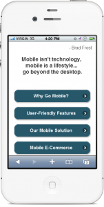 mobile website provim